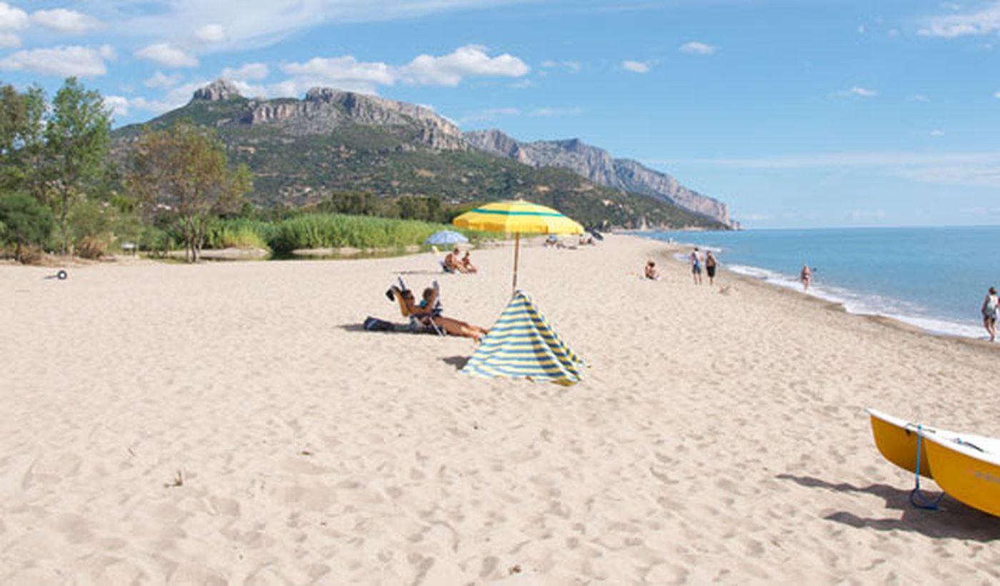 La Spiaggia del Camping Le Cernie