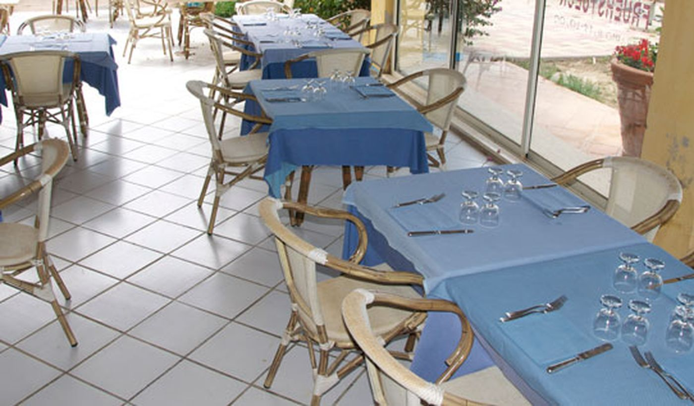"""Il ristorante """"Sea Food"""" del Camping Le Cernie"""