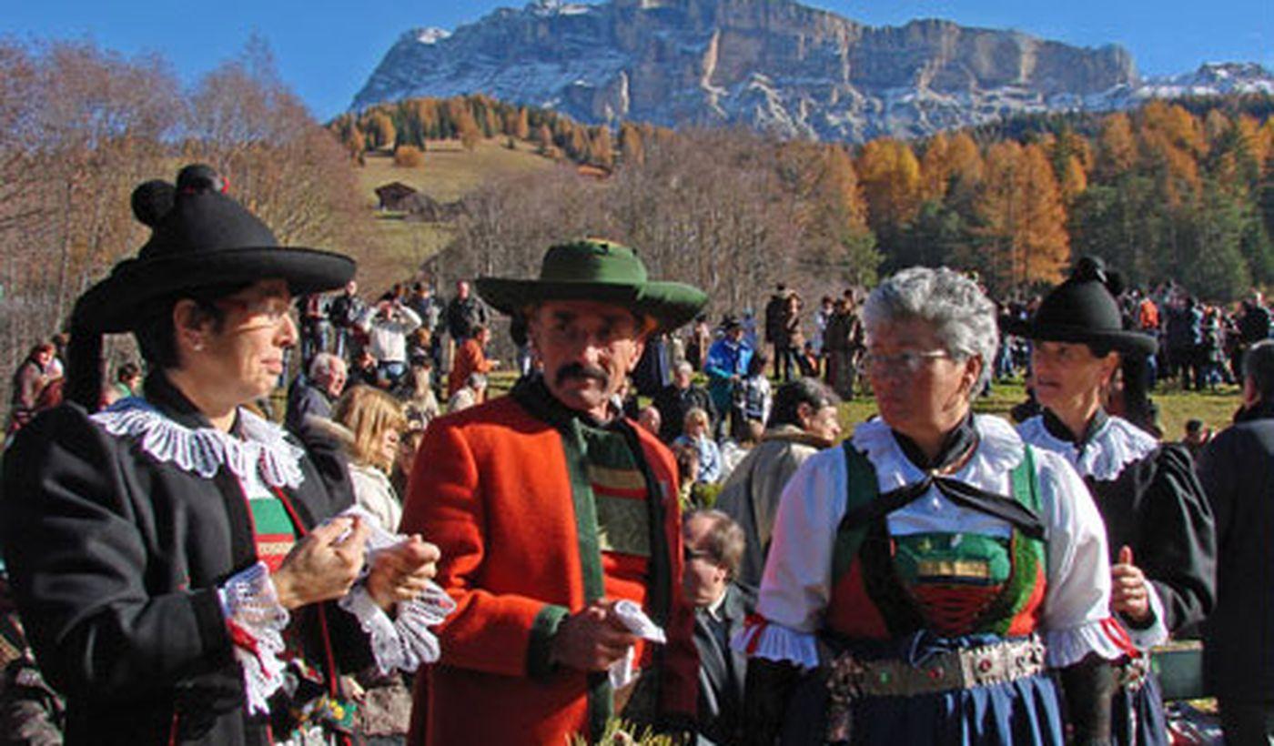 Costumi tradizionali Trentino
