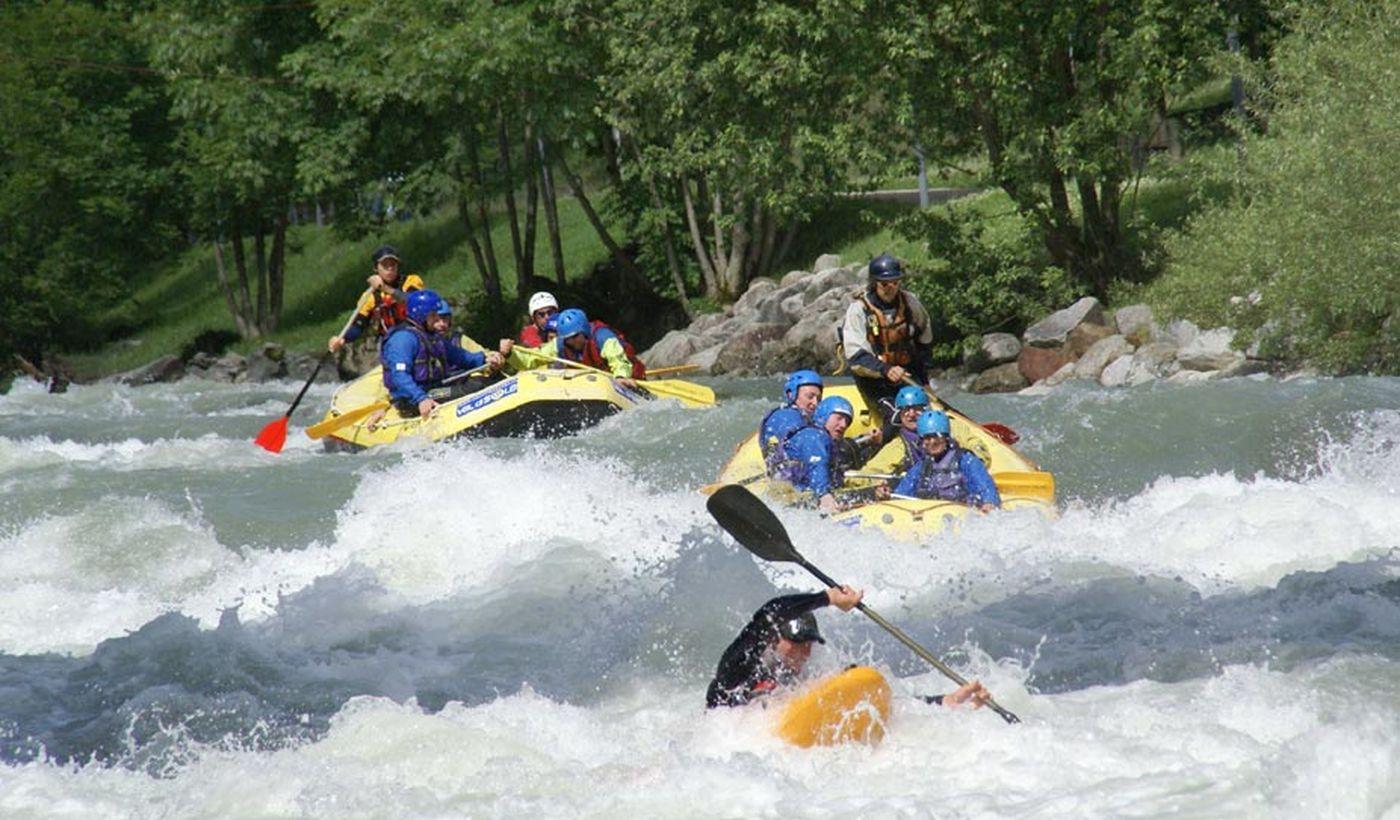 Rafting sulle Dolomiti