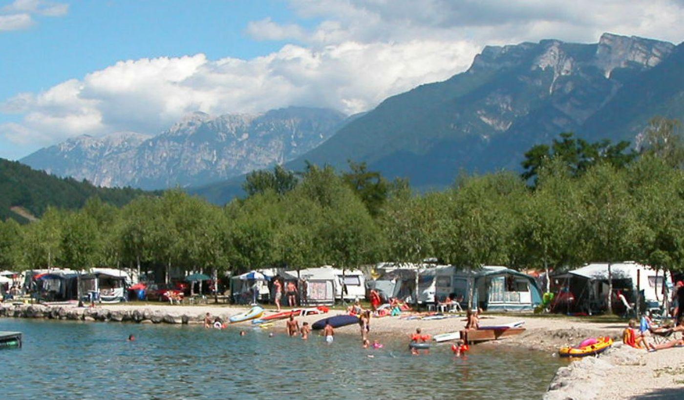 Camping am Lago di Caldonazzo, Trentino