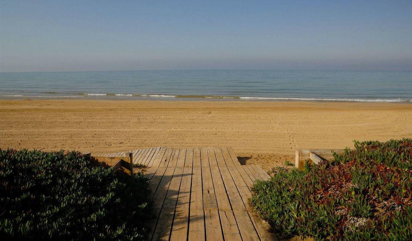 Spiaggia a Santa Croce Camerina