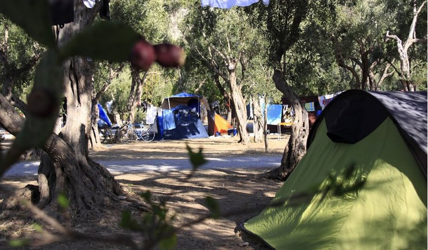Camping a Isola delle Femmine