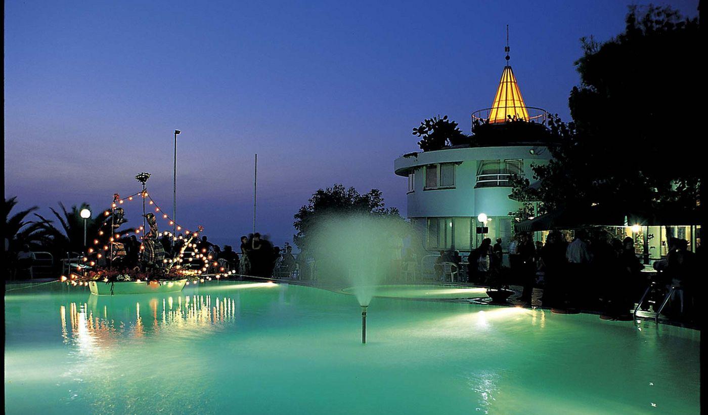 La piscina dell'Hotel Villaggio