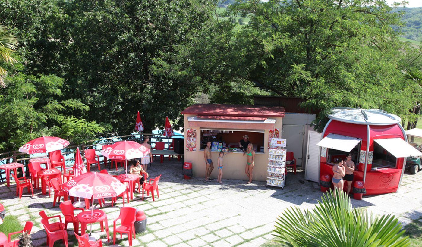 Campeggio con bar a Salsomaggiore