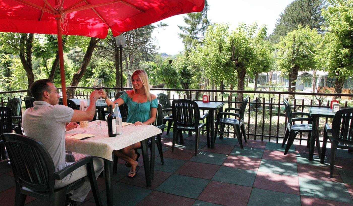Il ristorante del Camping Arizona