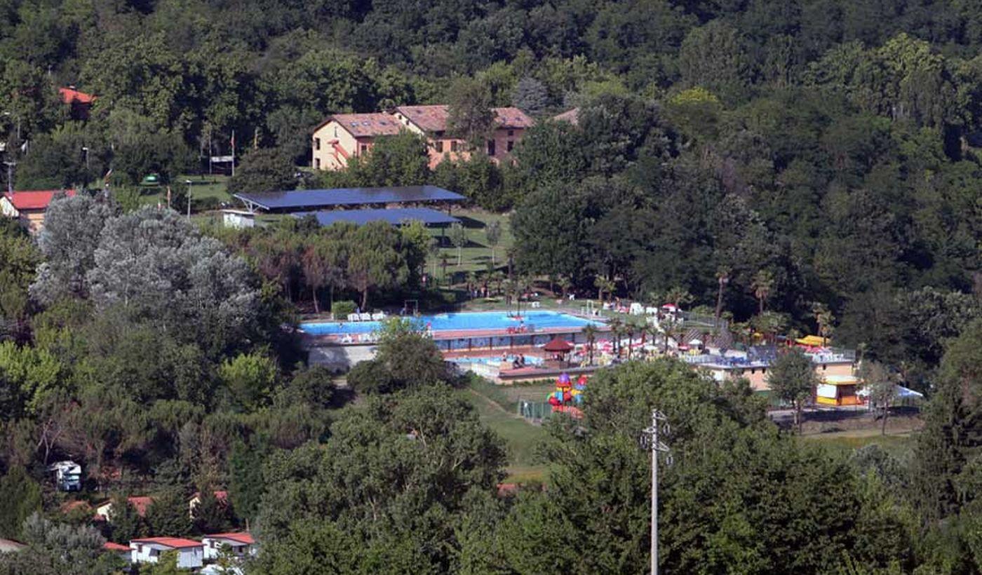 Panoramica del Camping Arizona, Emilia Romagna