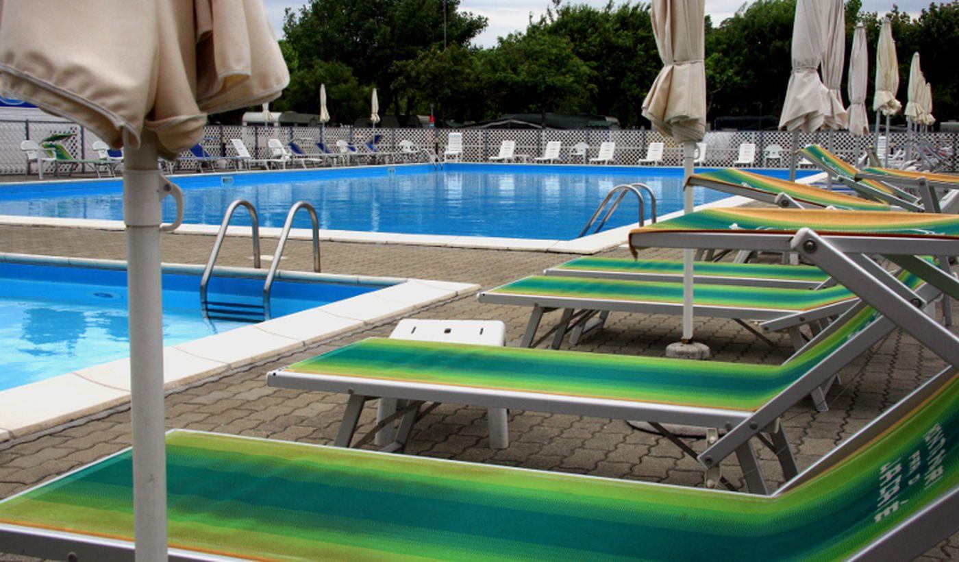 Campeggio con piscina, Emilia Romagna