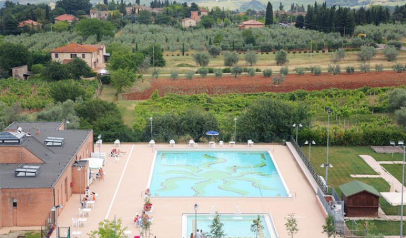 Camping mit Pool in der Toskana