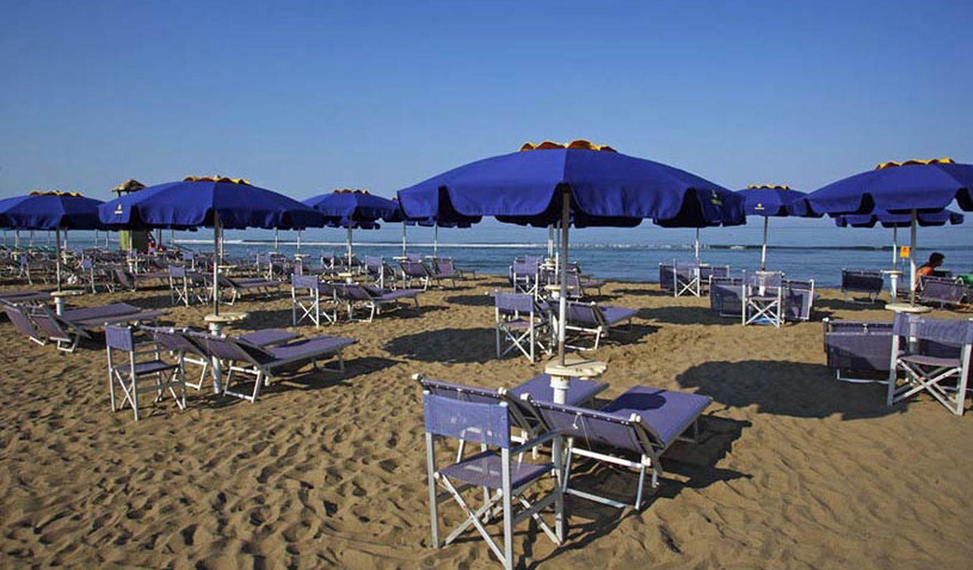 Der Strand in der Toskana