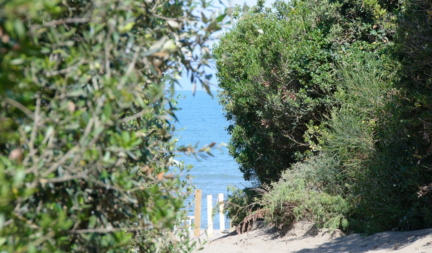 Accesso alla spiaggia