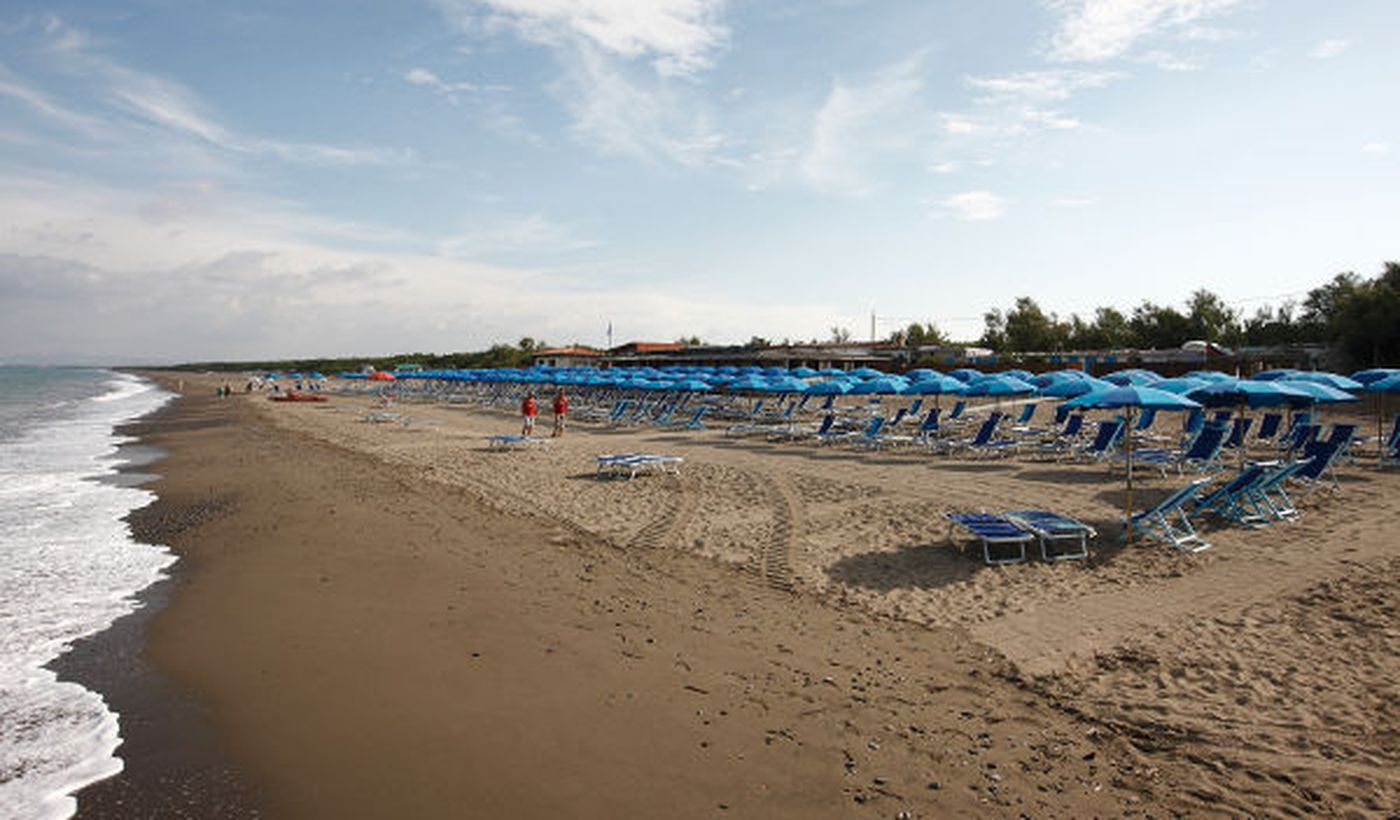 Der Strand Bibbona