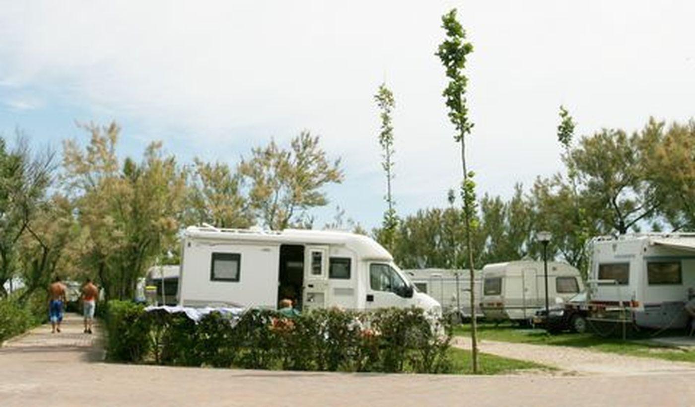 Camping für Wohnwagen