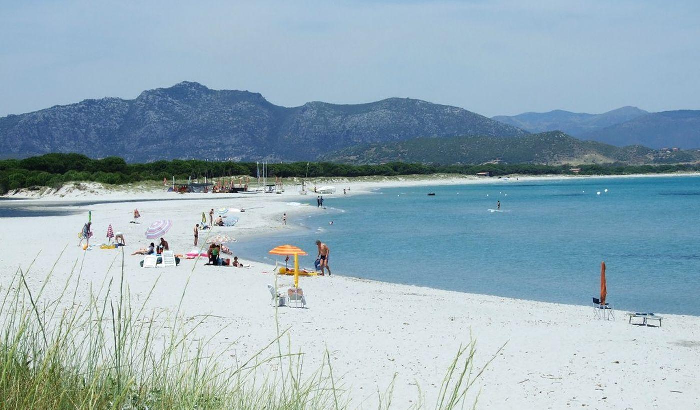 Der Strand Santa Lucia