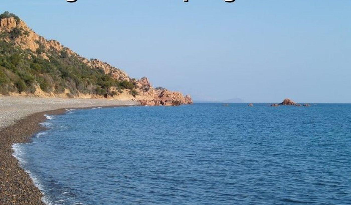 Der Strand von Camping Coccorrocci