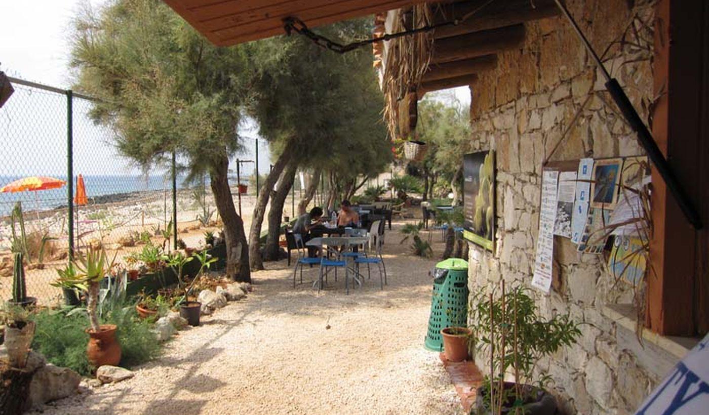 Camping Village junto al mar en Sicilia
