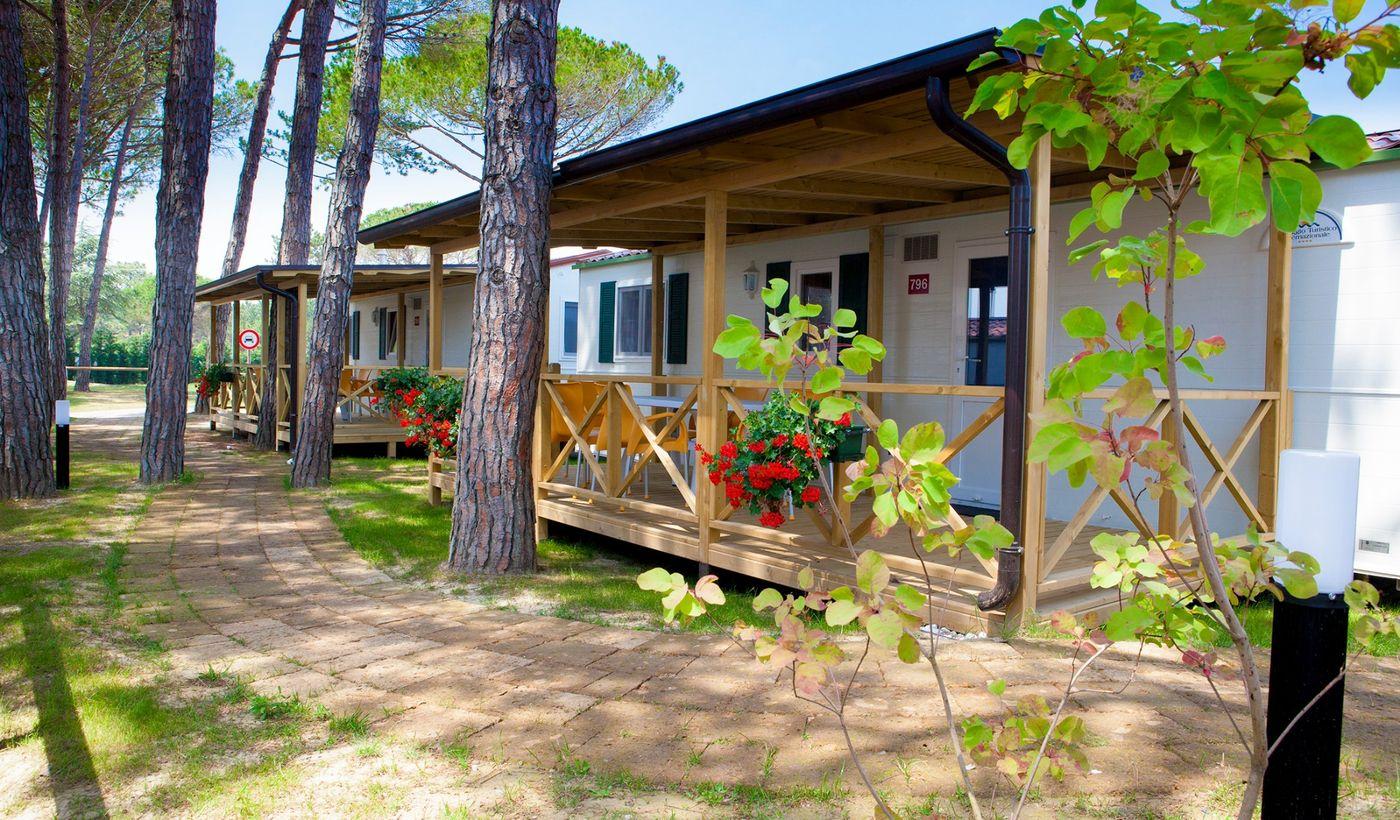 Villaggio con mobile home