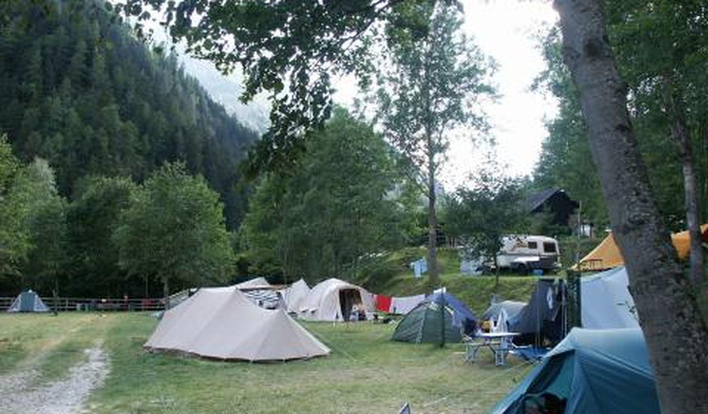 Campeggio in Trentino
