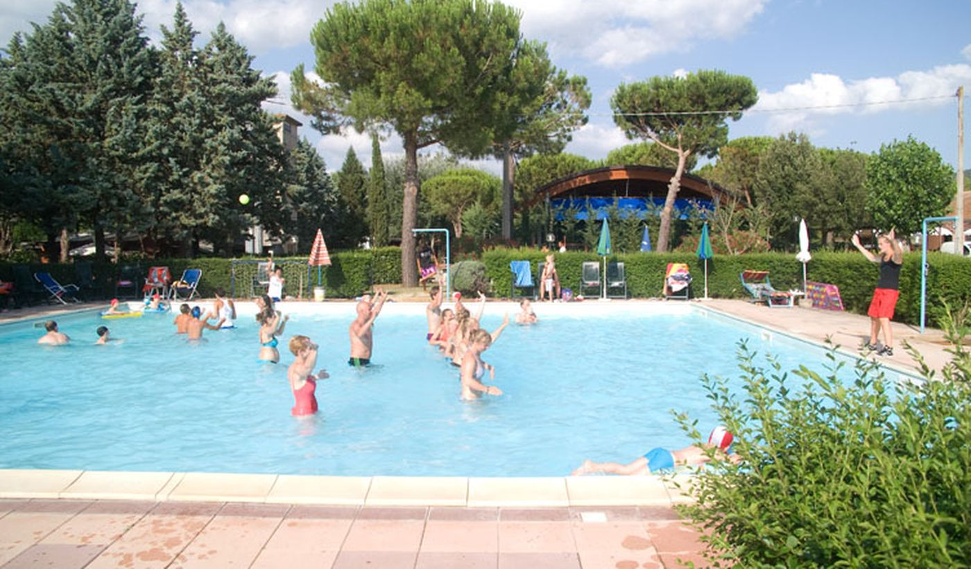 Camping in Umbria con Piscina