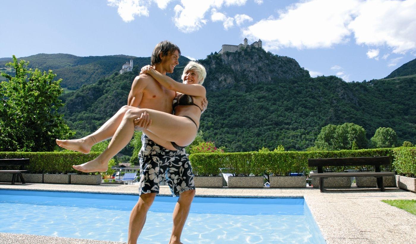 Campingplatz mit Schwimmbad in Trentino-Südtirol