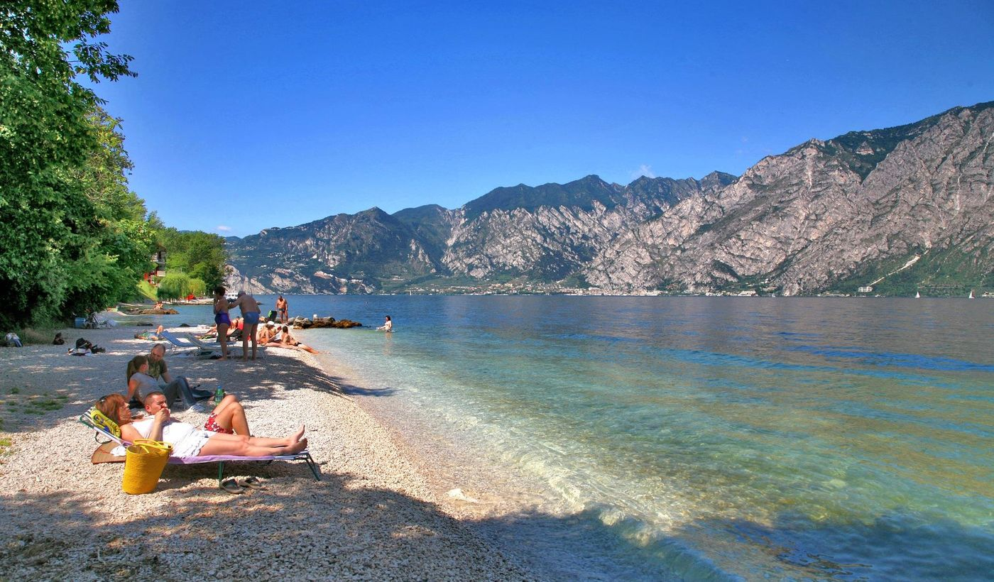 Camping on The Lake Garda