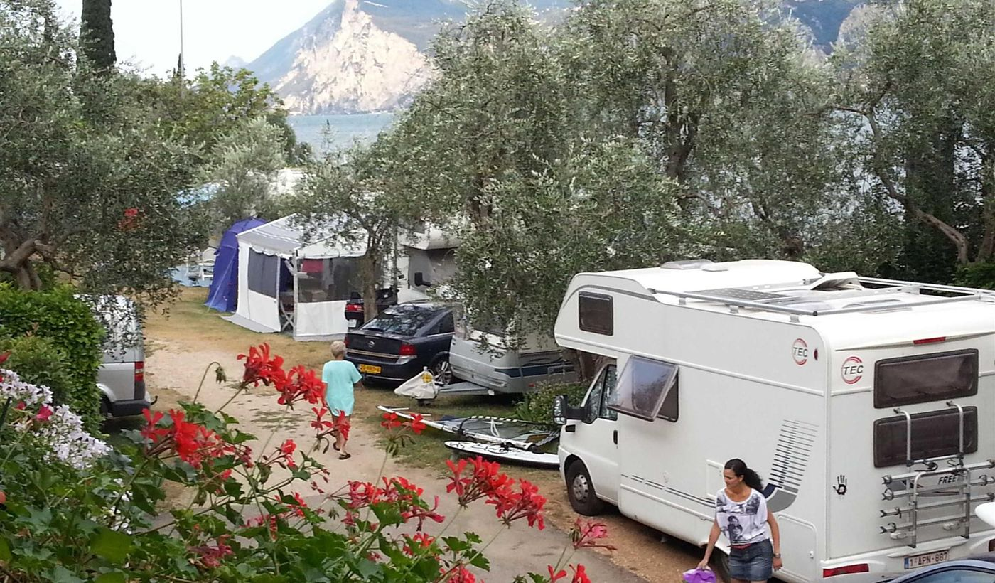Camping in Malcesine