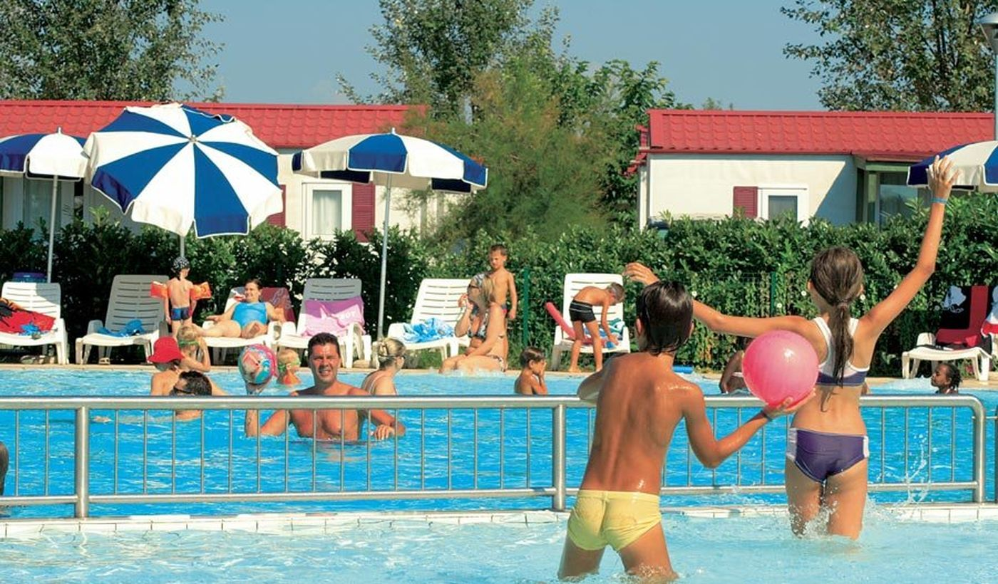 Campingplatz mit Pool in Caorle