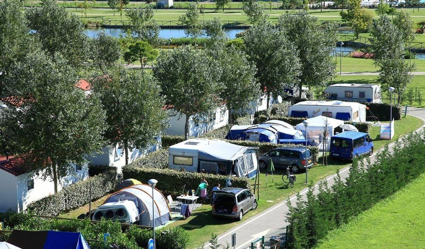 Campingplatz mit Pool in Venetien
