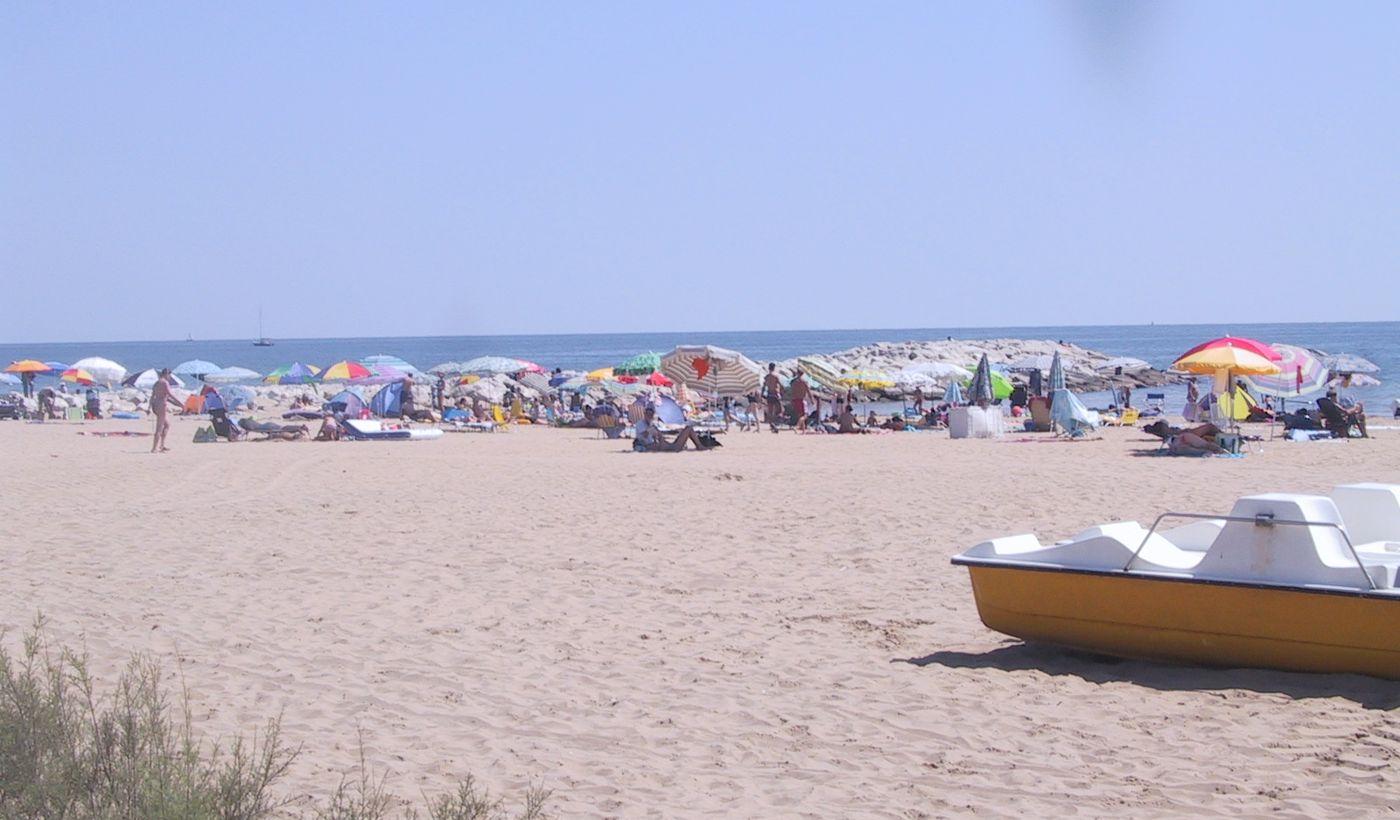 Camping con spiaggia libera