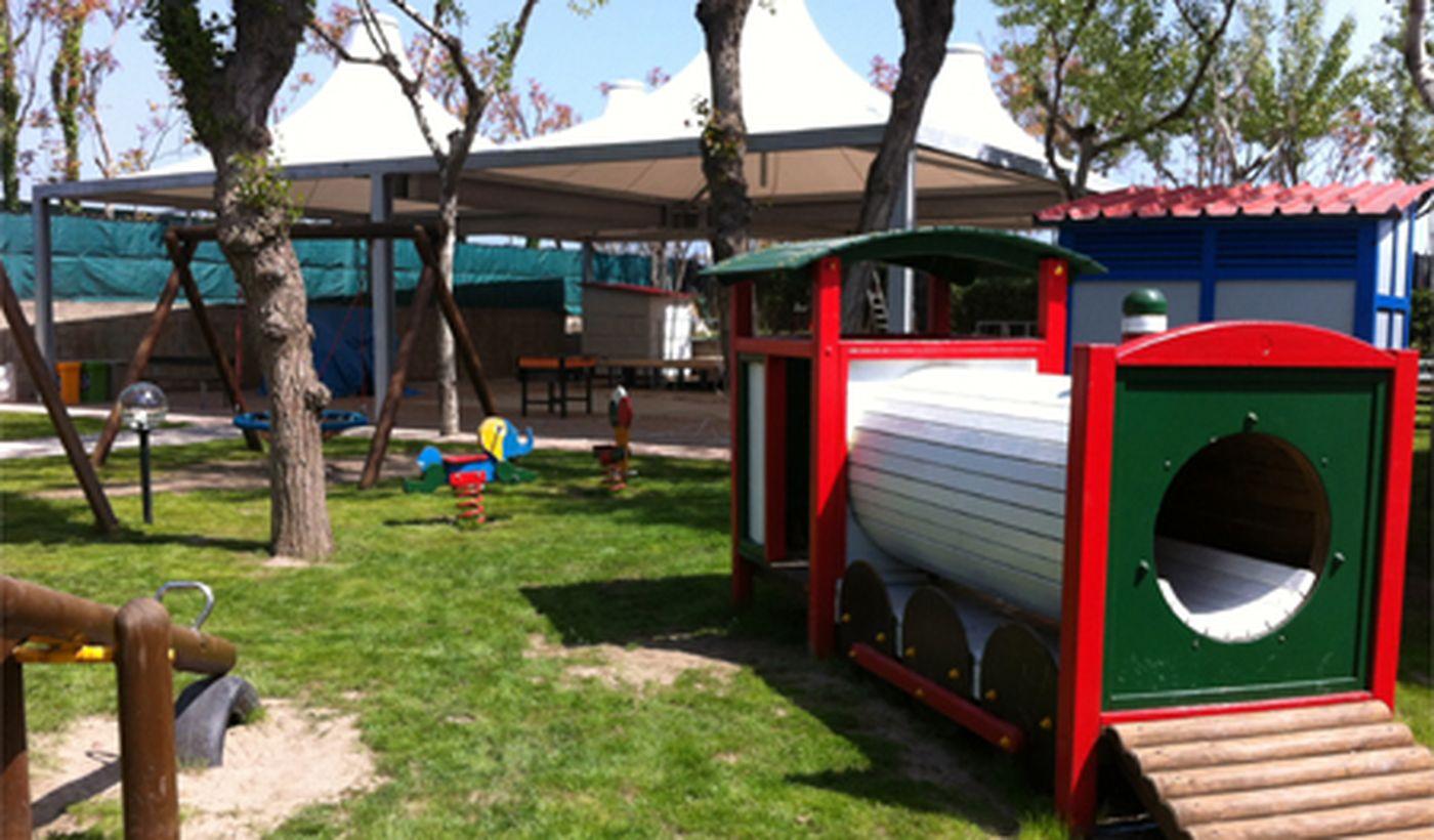 Camping mit Spielplatz