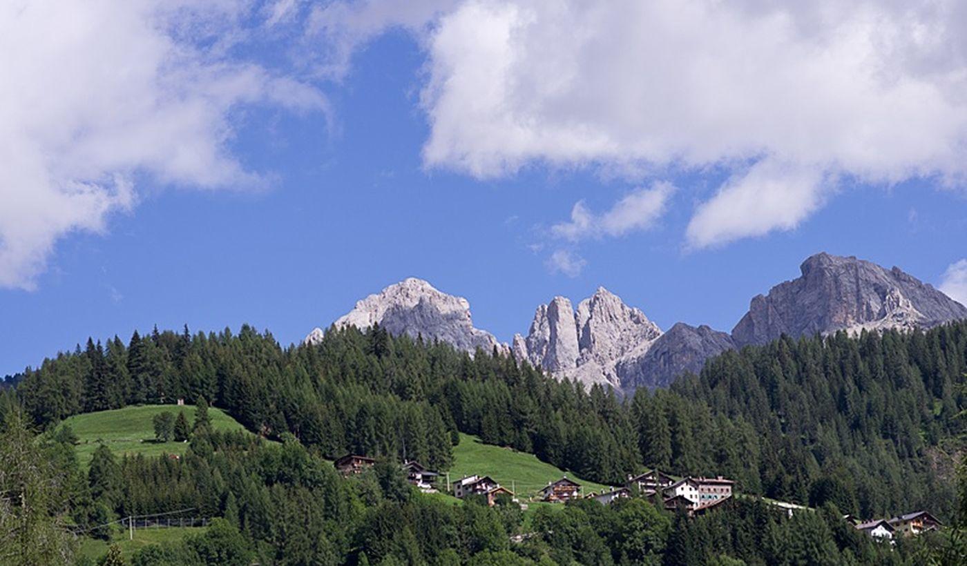 Camping a Falcade, Veneto