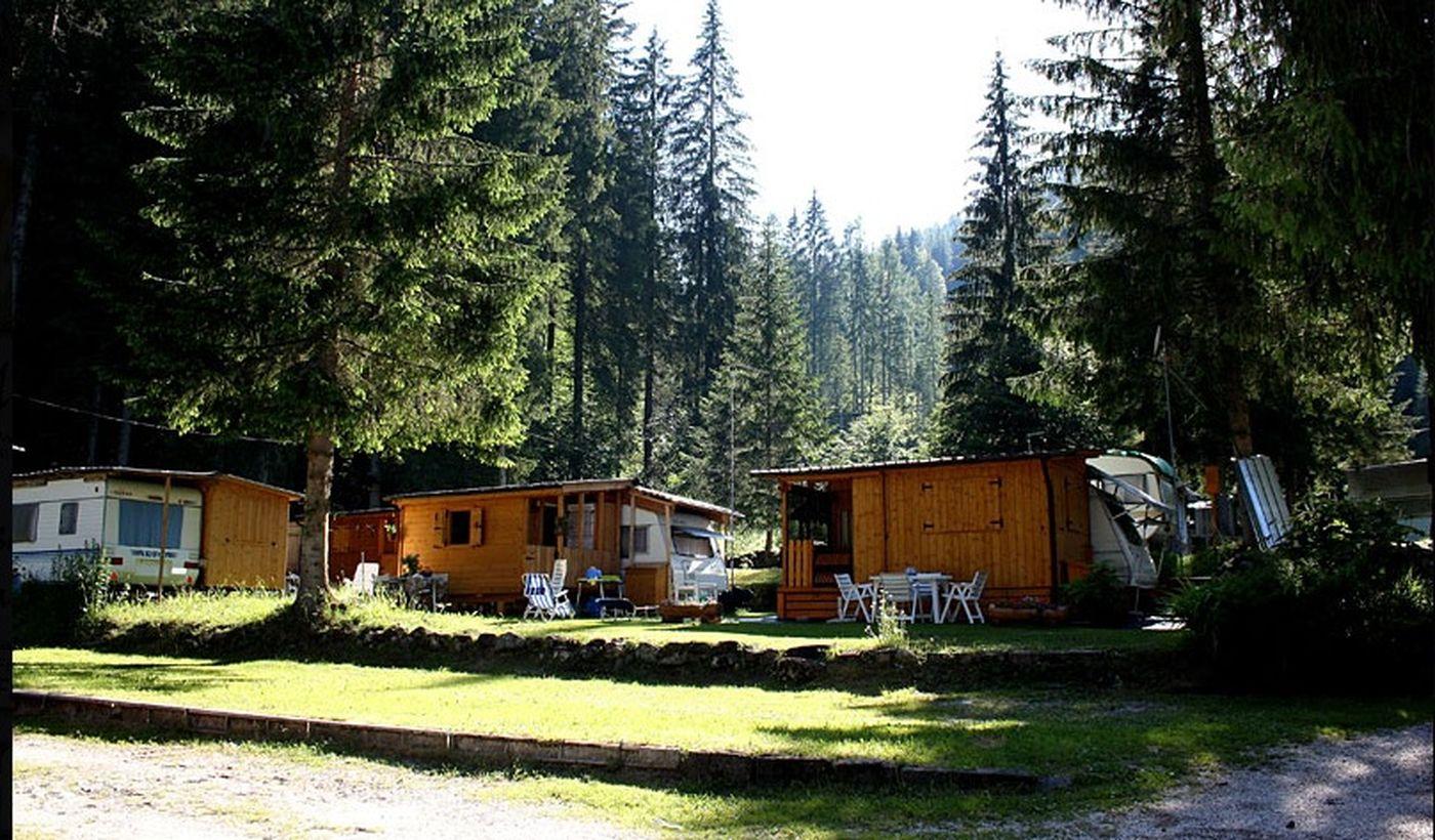 Camping nelle Dolomiti