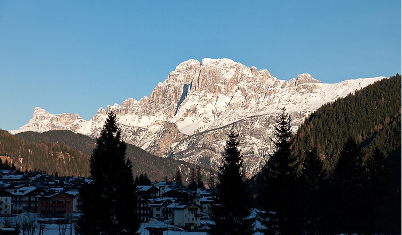 Camping a Falcade, Dolomiti