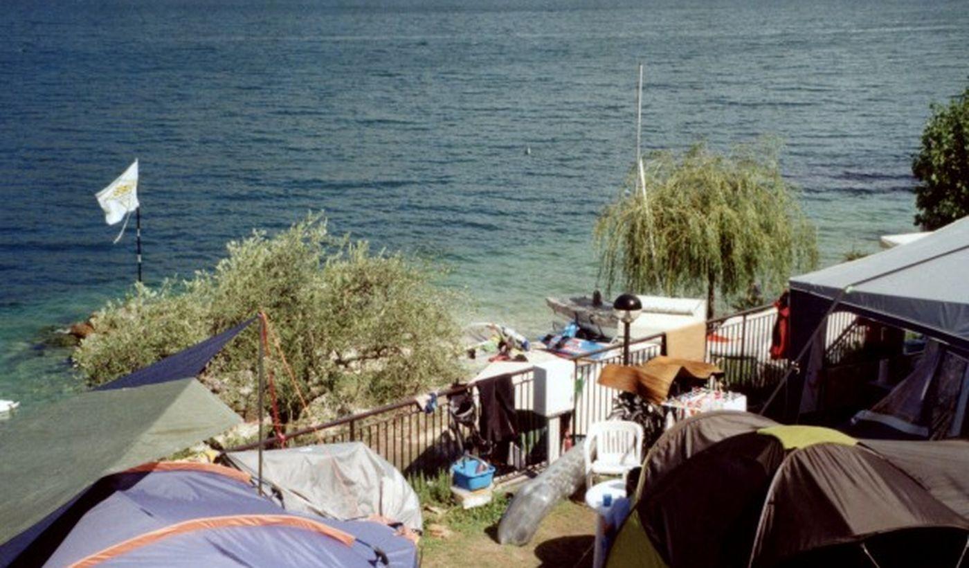 Camping Bommartini on Lake Garda