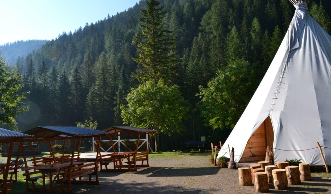 Camping in provincia di Belluno