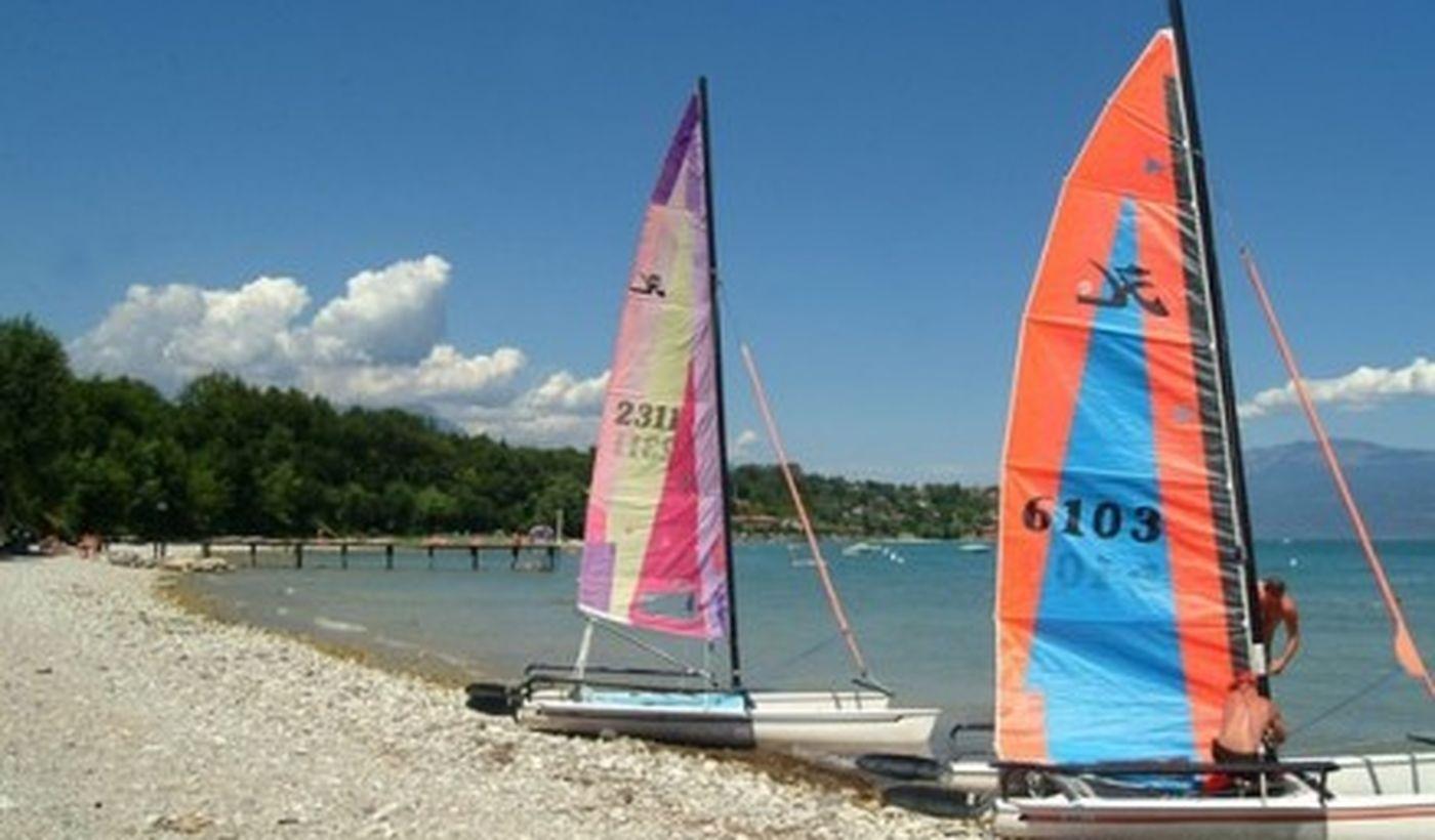 Barche a vela sul Lago di Garda