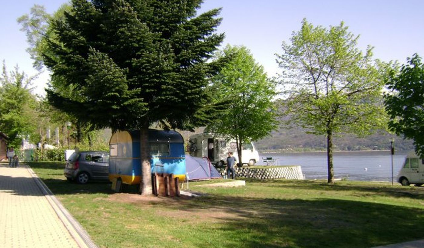 Camping a Baveno, Lago Maggiore