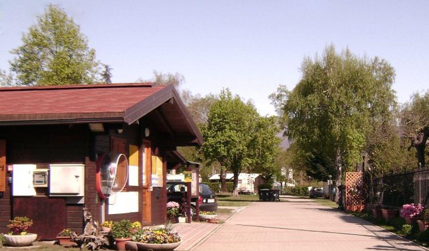 Reception del campeggio