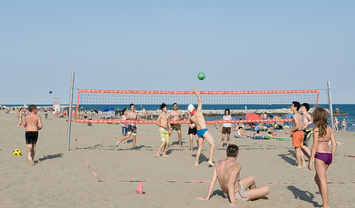 Beach Volley on the beach