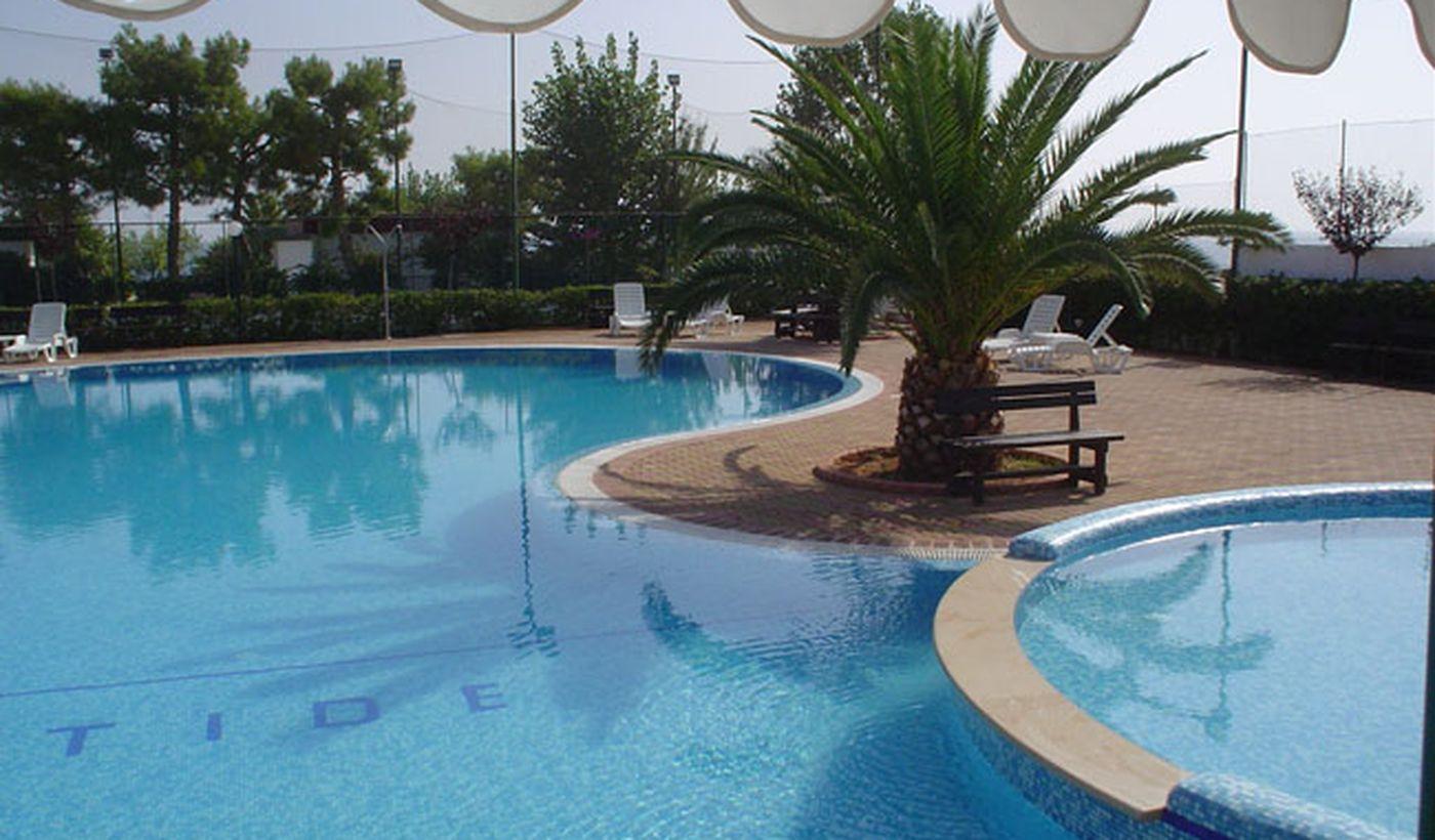 La piscina del Camping Residence