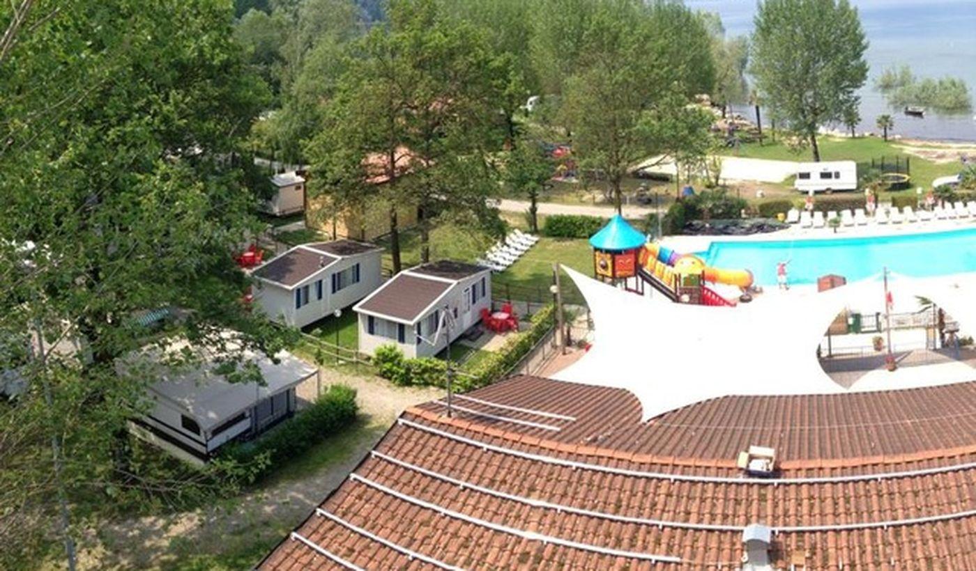 Feriendorf mit Pool, Lago Maggiore
