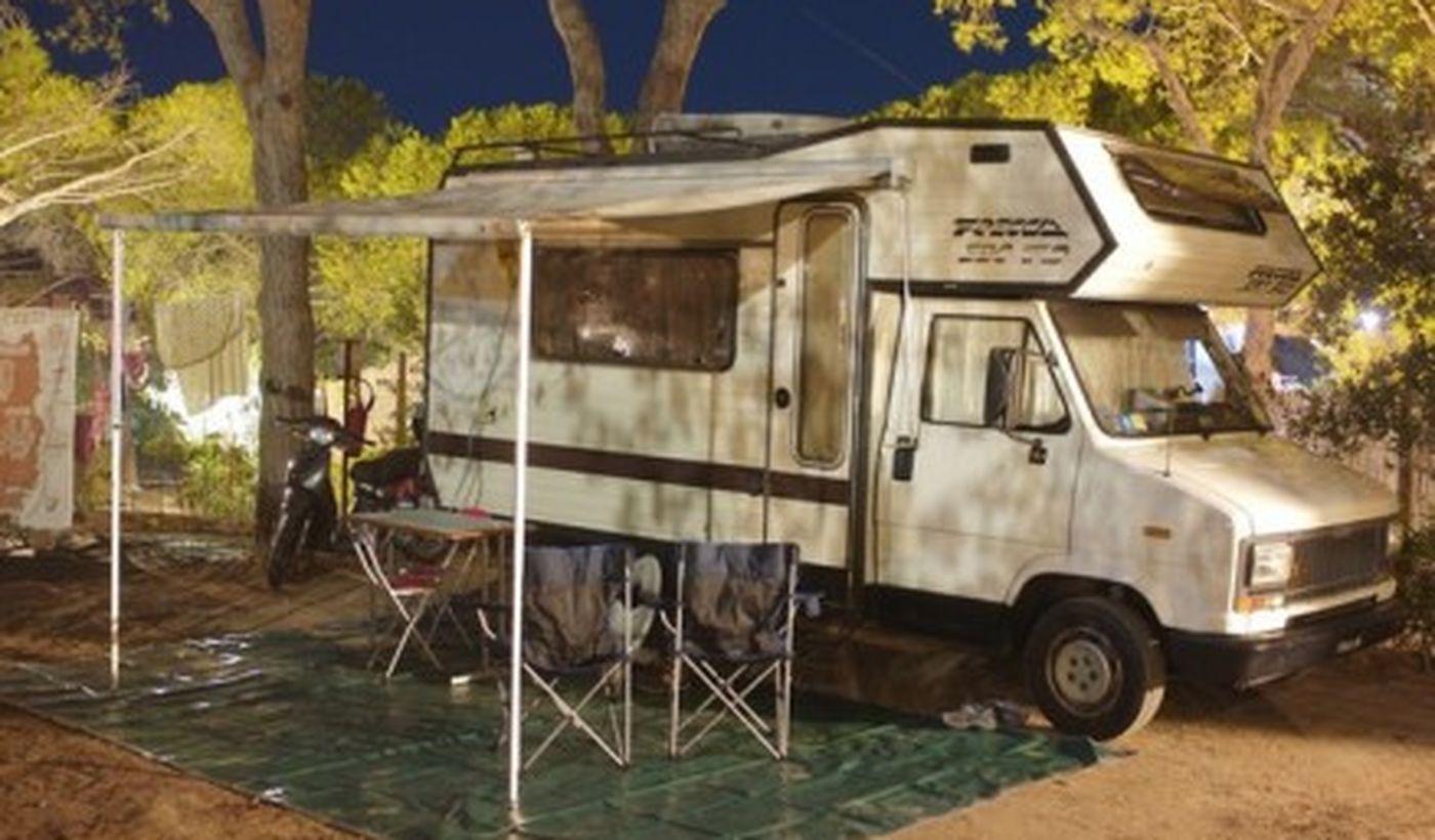 Camping in der Toskana