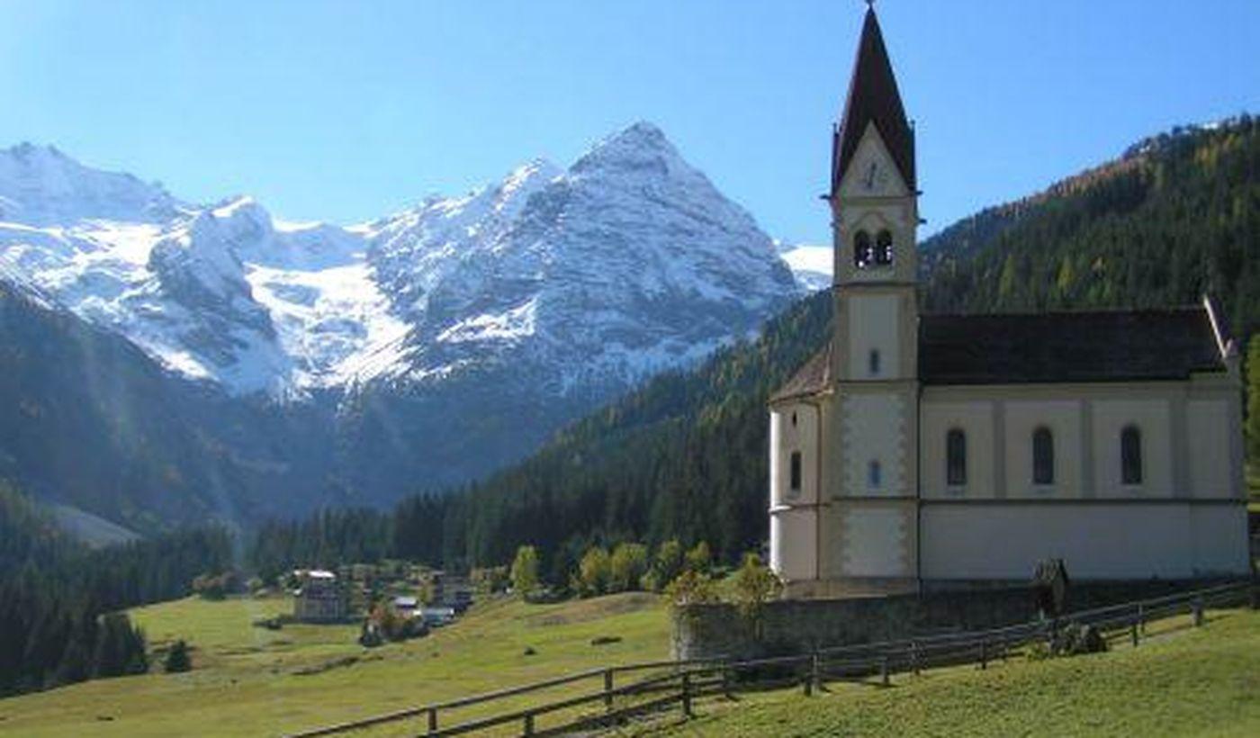 Camping Kiefernhain in Südtirol, Italien