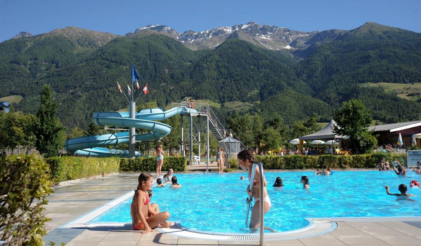 Camping Residence mit Pool im Vinschgau