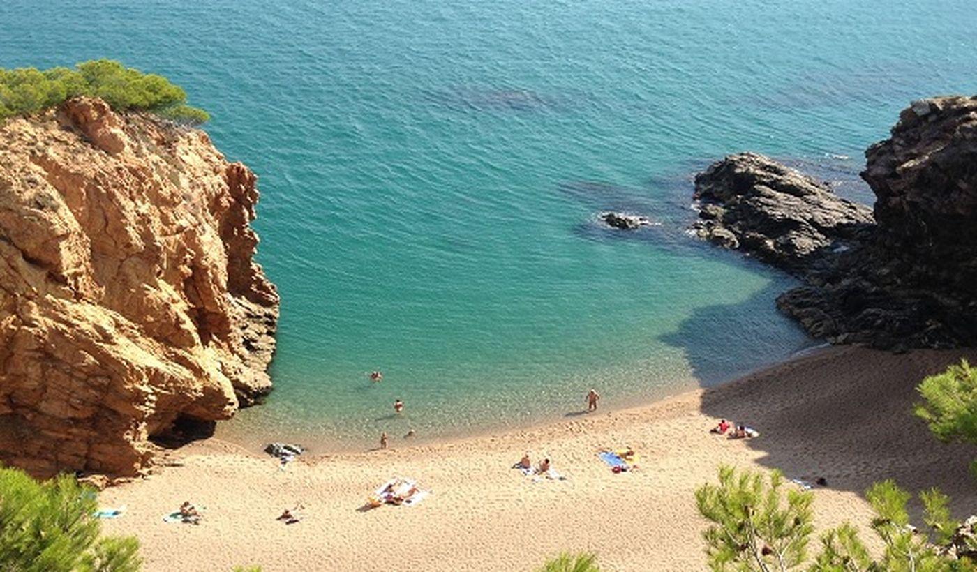 La plage de Pals, Costa Brava