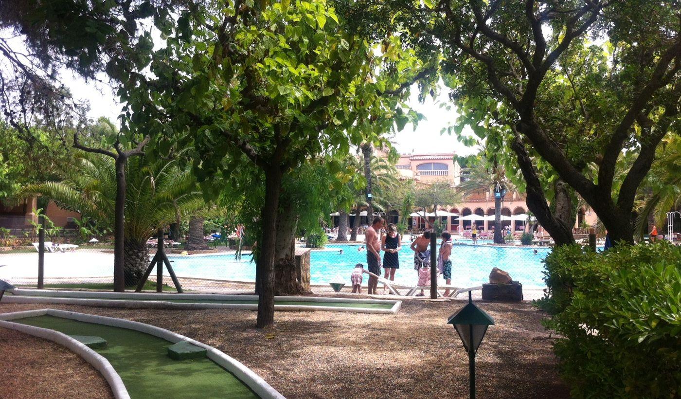 Camping Bungalow en Miami Platja, Catalunya