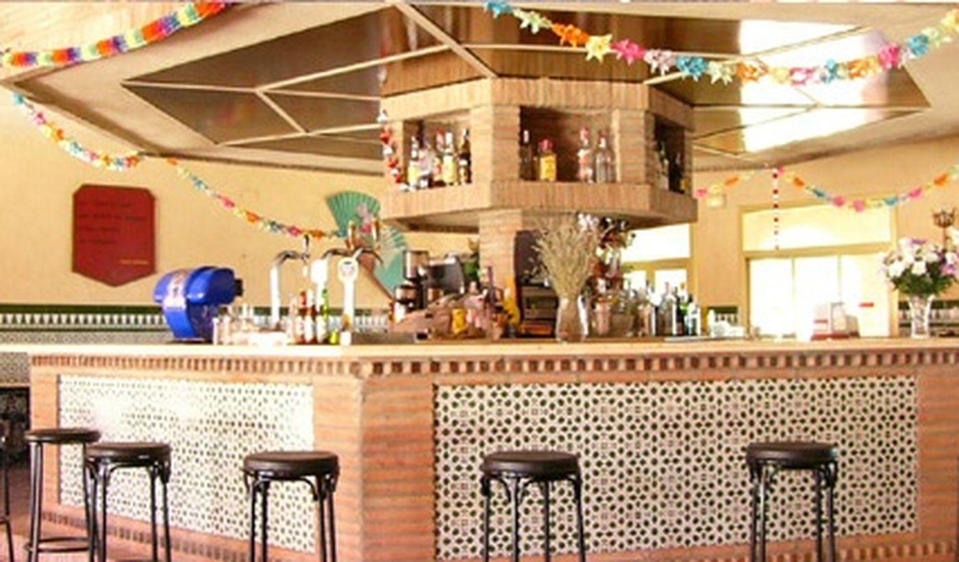 Bar del Camping Resort El Templo del Sol