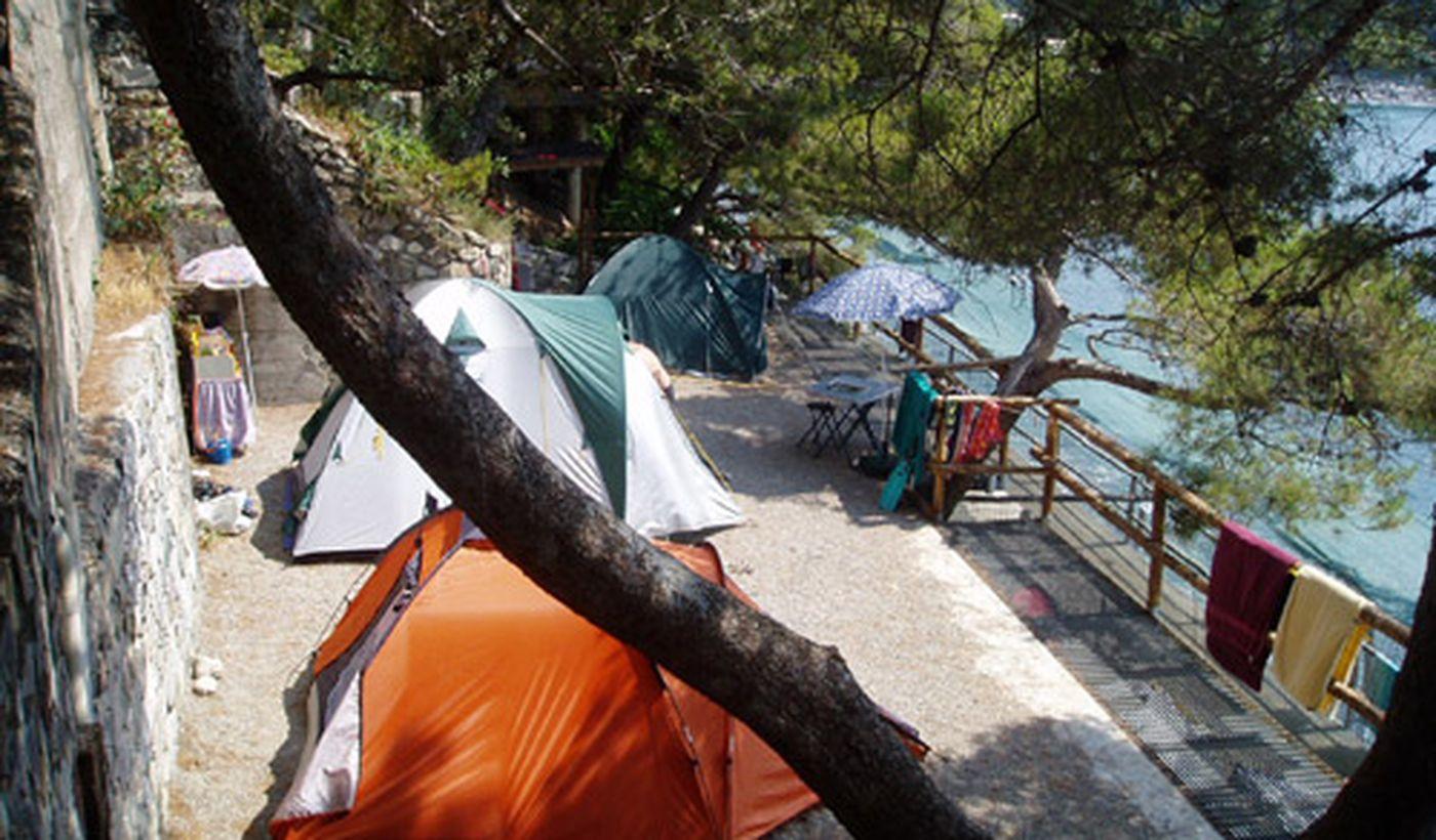 Camping a Moneglia, Liguria