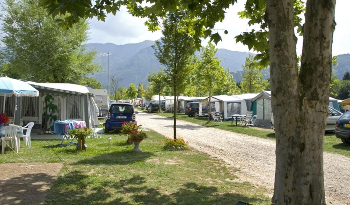 Campingplatz im Herzen des Valsugana