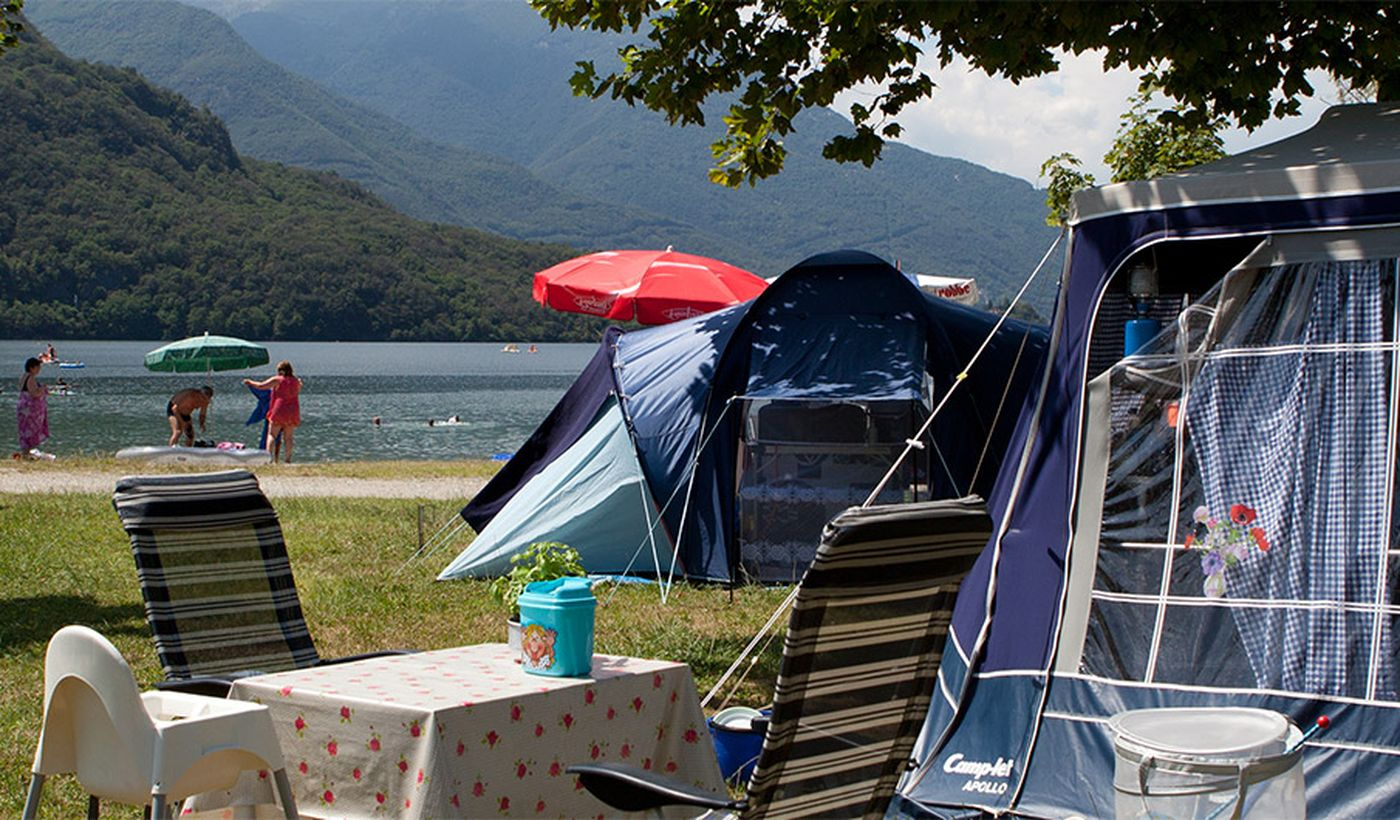 Campingplatz in Verbania